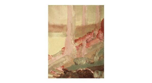 "Gethsemane Trees - 18"" x 20"", Acrylic"