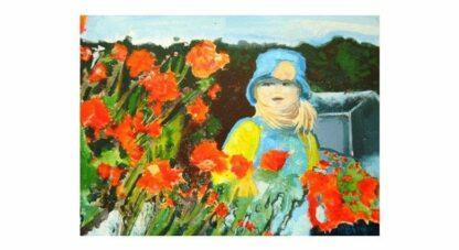 """Little Girl - 24"""" x 18"""", Acrylic on Canvas"""