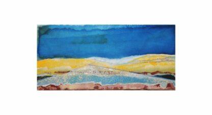 "Tuscany 4 - 8"" x 14"", Acrylic on Canvas"
