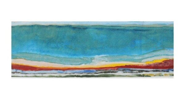 "Tuscany 5 - 8"" x 14"", Acrylic on Canvas"