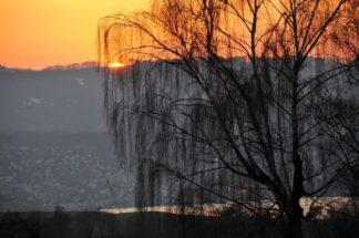 Zurich, Switzerland, Sunset